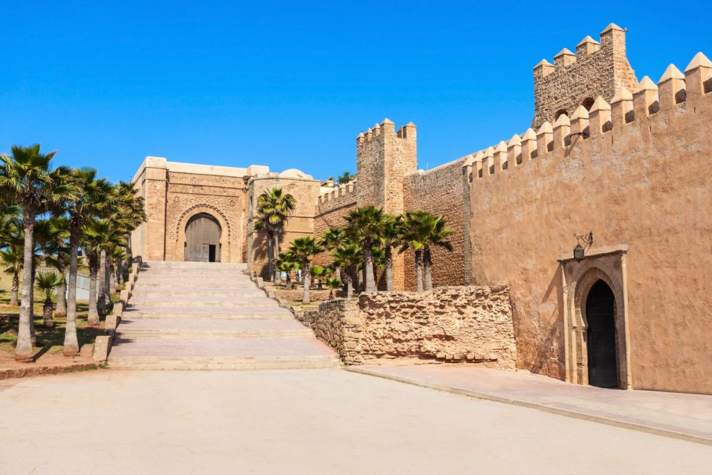 Pevnost v Kasbah des Oudaias v Rabatu | saiko3p/123RF.com
