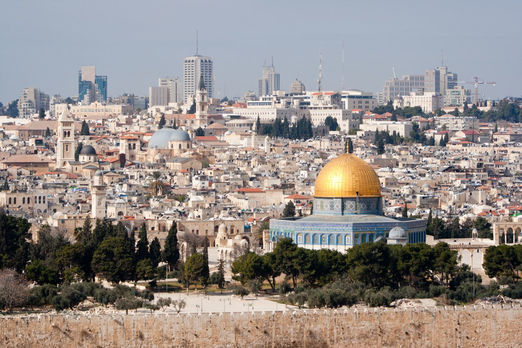 Pohled na Jeruzalém v Izraeli | jvdwolf/123RF.com