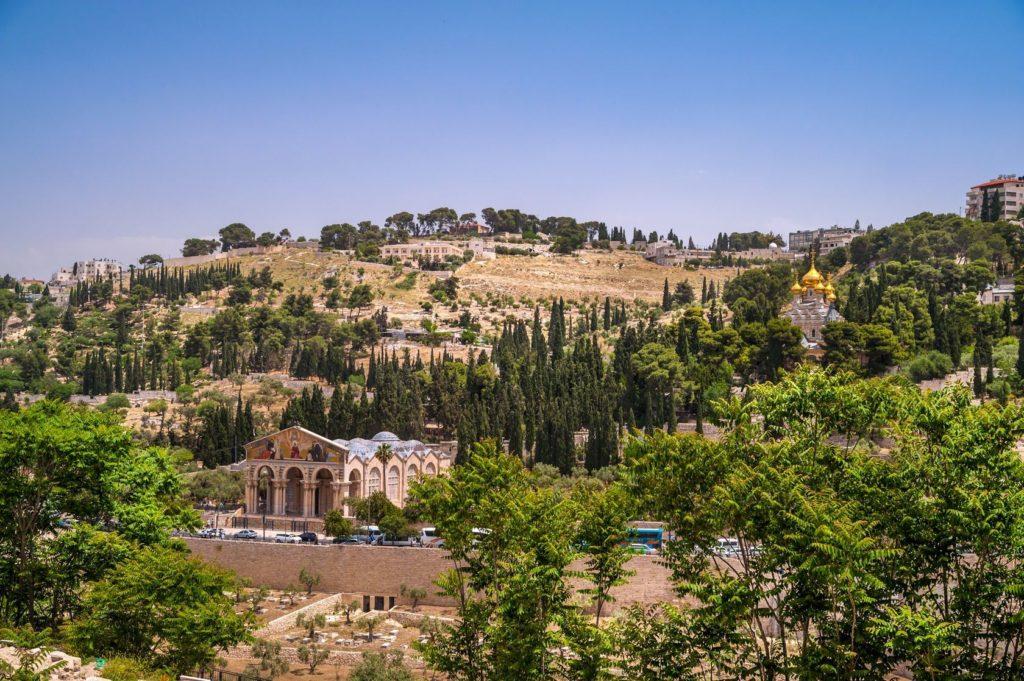 Pohled na Olivovou horu v Jeruzalémě | naxaso/123RF.com
