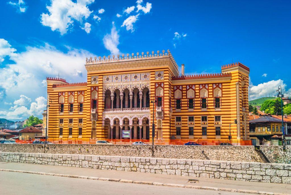 Radnice Gradska vijeænica v Sarajevu | dreamer4787/123RF.com
