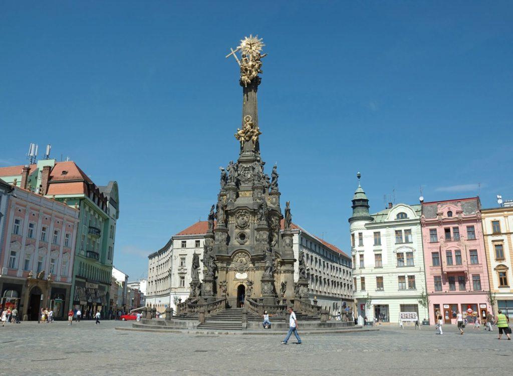Sloup Nejsvětější Trojice v Olomouci | kaetana/123RF.com