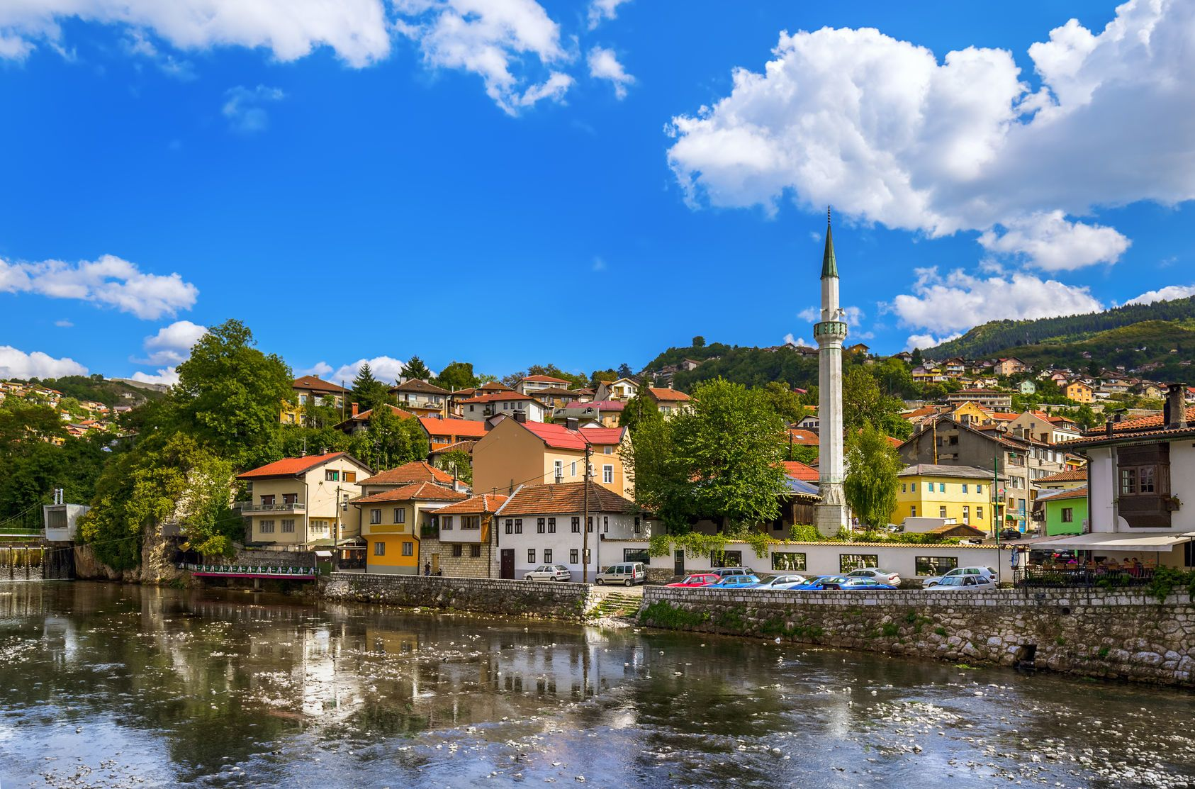 Staré město Sarajevo v Bosně a Hercegovině | Violin/123RF.com
