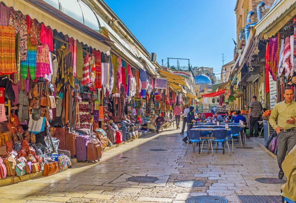 Trhy ve Starém městě v Jeruzalému | efesenko84/123RF.com