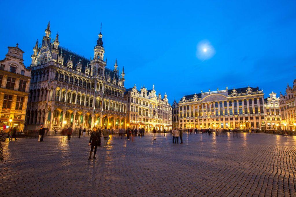 Velké náměstí v Bruselu | vichie81/123RF.com