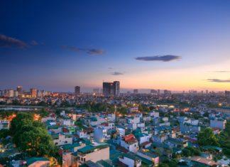 Západ slunce v Hanoji ve Vietnamu | quangpraha/123RF.com