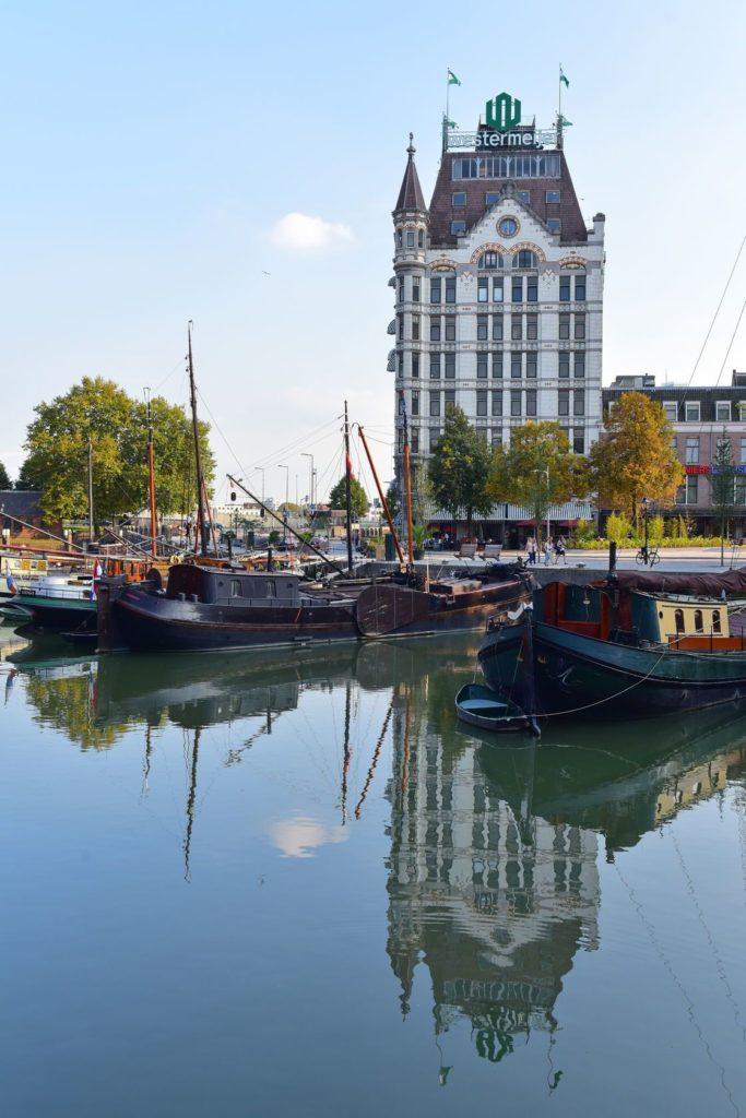 Bílý dům v Rotterdamu | prestonia/123RF.com