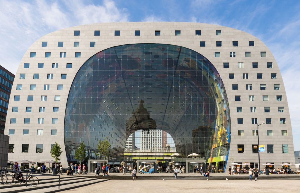 Budova Markthal v Rotterdamu | kloeg008/123RF.com