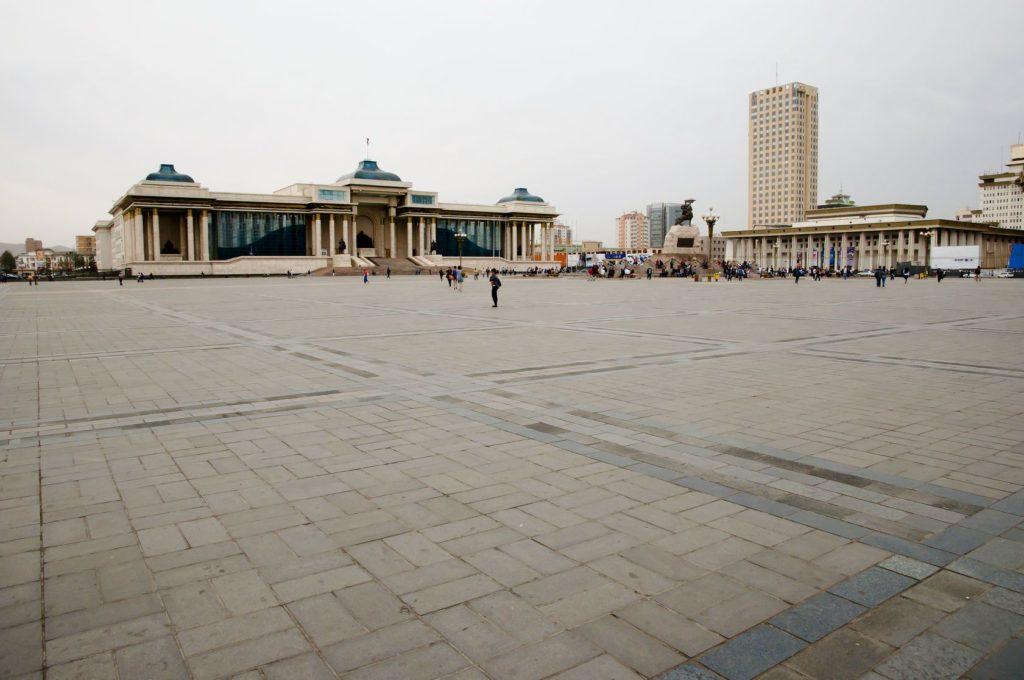 Čingischánovo náměstí v Ulánbátaru | adwo123/123RF.com