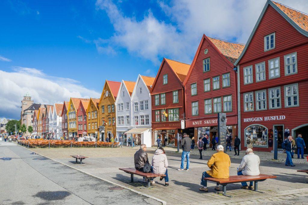 Čtvrť Bryggen v norském Bergenu | rolf52/123RF.com