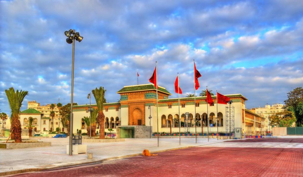 Justiční palác na náměstí Mohammeda V. v Casablance | elec/123RF.com