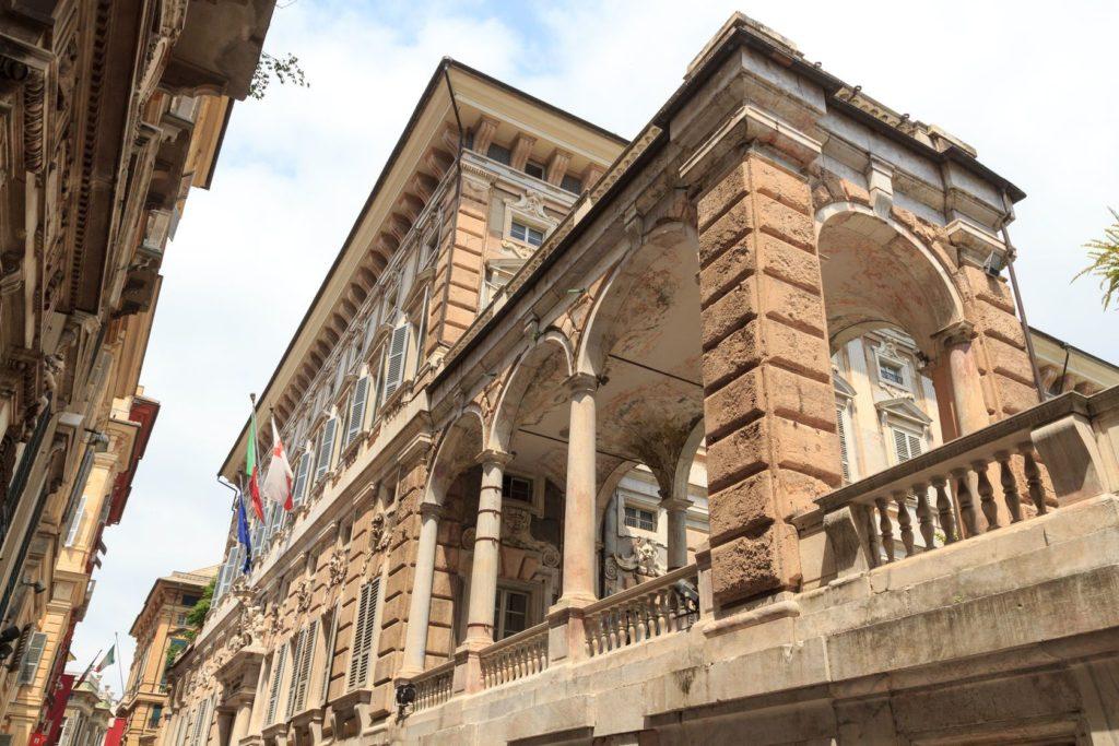 Palác Palazzo Doria Tursi na Via Garibaldi v Janově | schlenger86/123RF.com