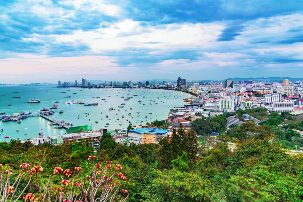 Pohled na Pattayu z kopce Pratumnak | asiastock/123RF.com