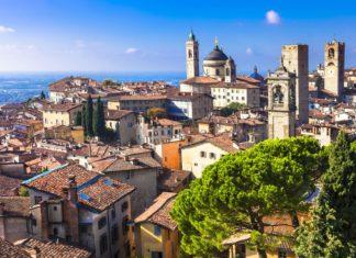 Pohled středověkého Bergamo v Itálii | freeartist/123RF.com