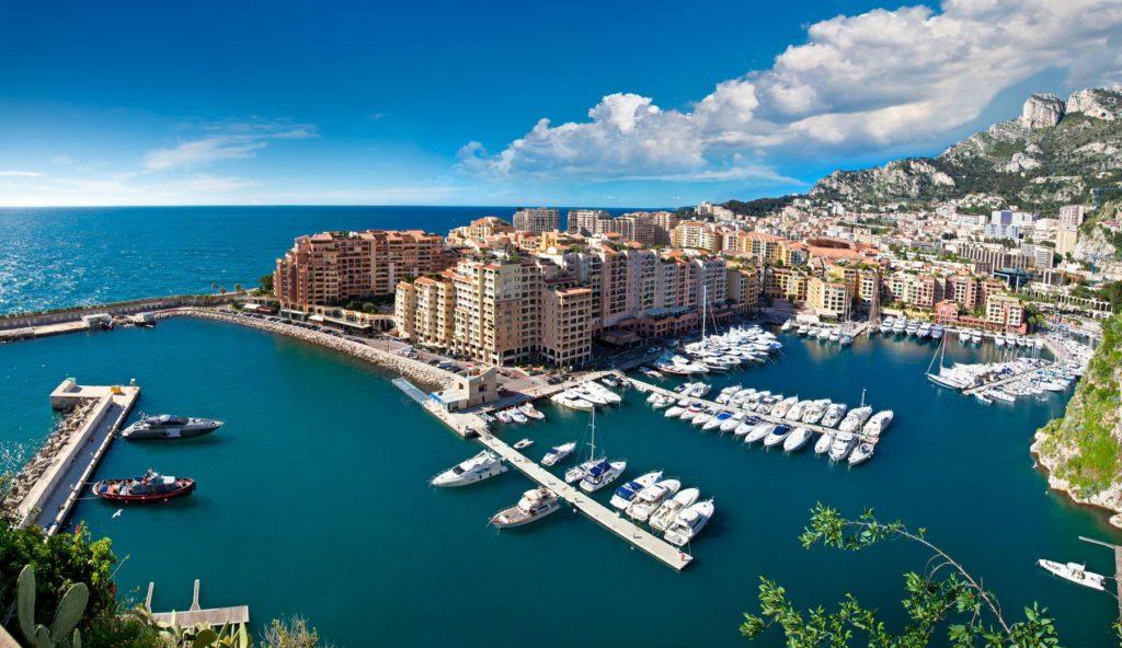 Přístav ve čtvrti Fontvieille v Monaku | master2/123RF.com