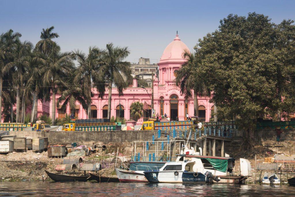 Růžový palác Ahsan Manzil v Dháce | waldorf27/123RF.com