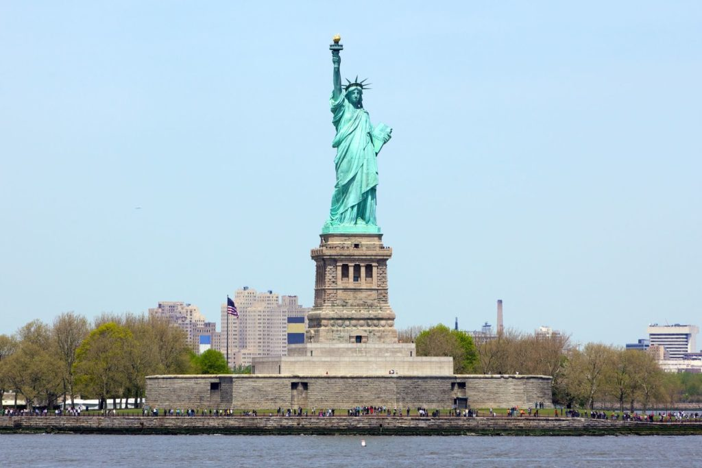 Socha svobody v New Yorku | dibrova/123RF.com