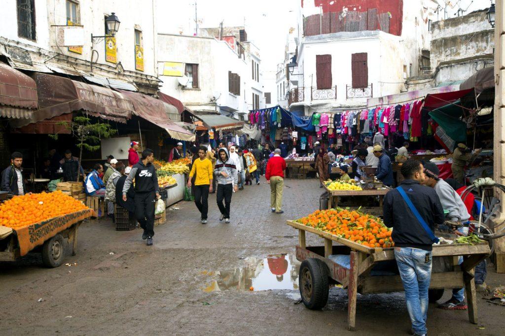 Trh ve staré medině v Casablance | ursula1964/123RF.com