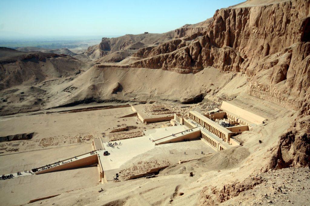 Údolí králů a Chrám královny Hatšepsut | mhudovernik/123RF.com