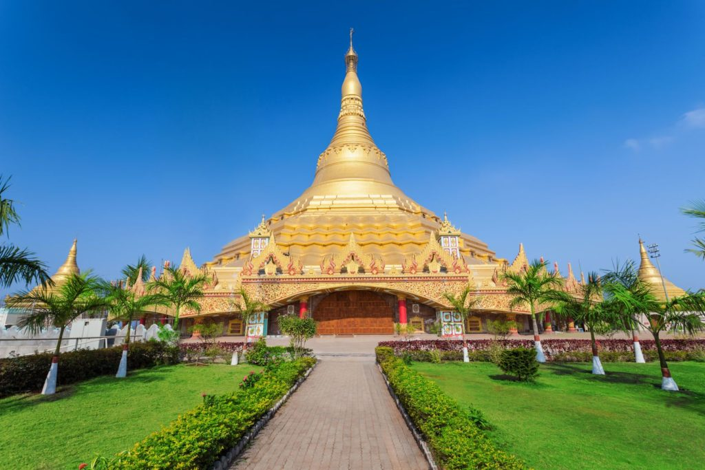 Vipassana Pagoda v Bombaji | saiko3p/123RF.com