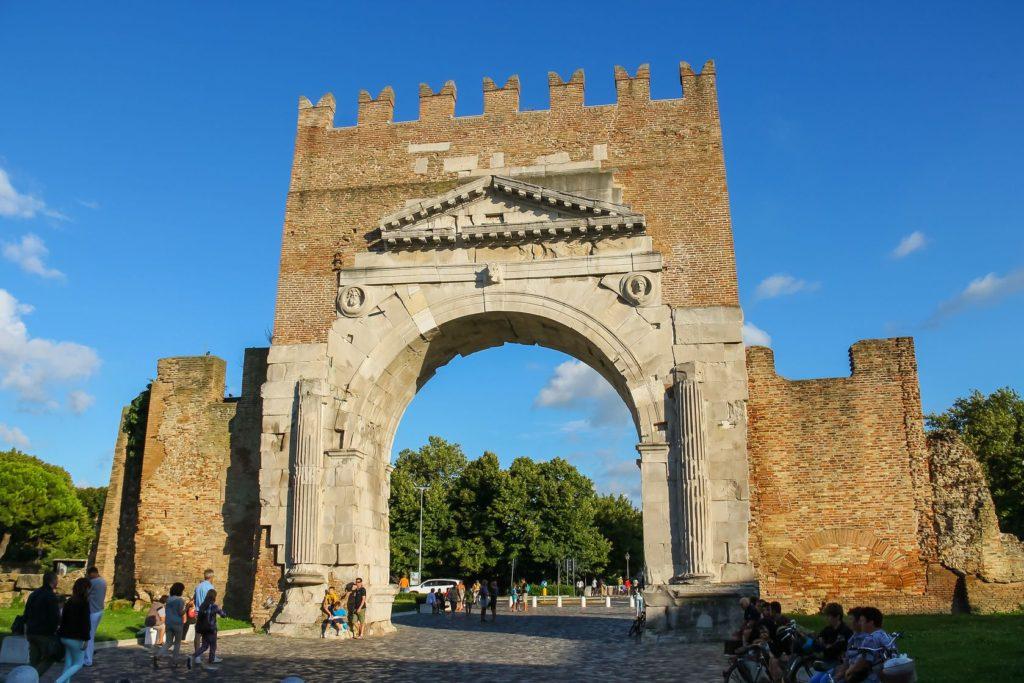 Augustův oblouk v Rimini | nicknick/123RF.com