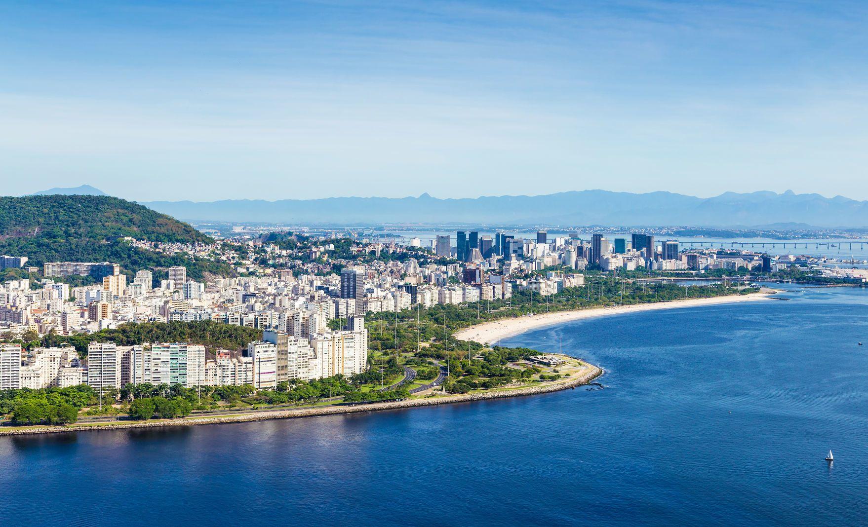 Brazilské pobřeží v Rio de Janeiru   filipefrazao/123RF.com