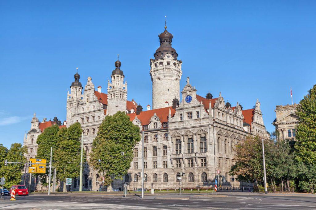 Budova Nové radnice v Lipsku | bbsferrari/123RF.com