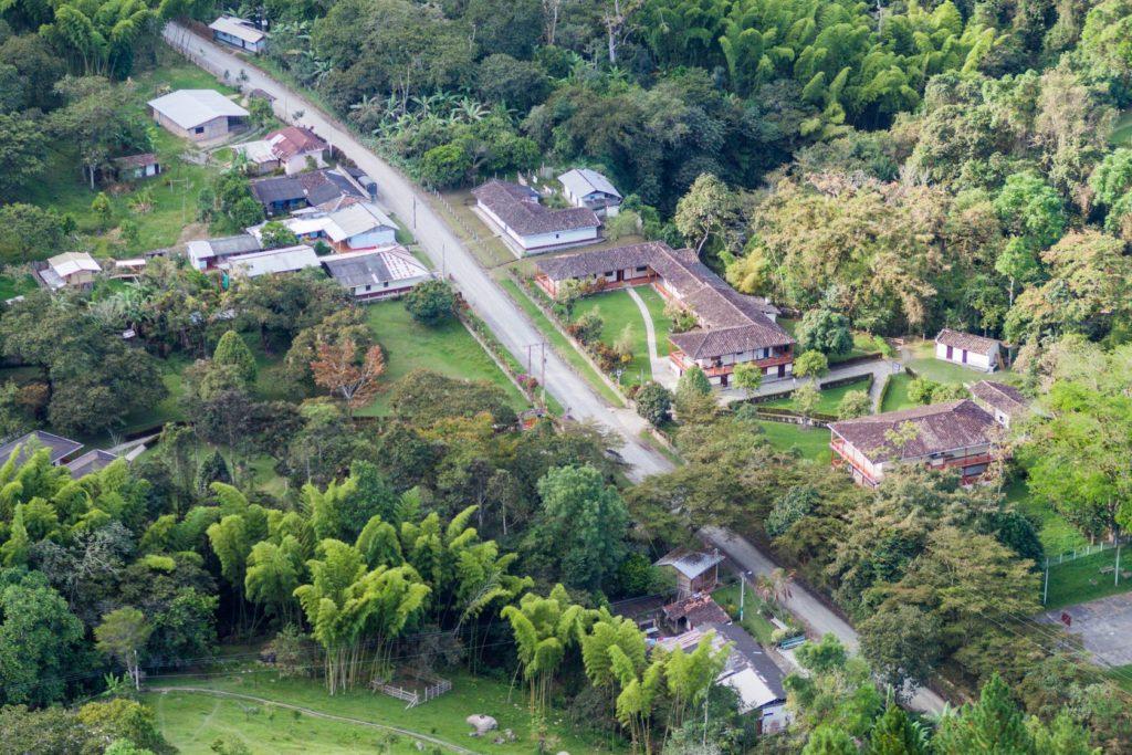 Budovy archeologického naleziště v oblasti Národního parku Tierradentro v Kolumbii | mathess/123RF.com