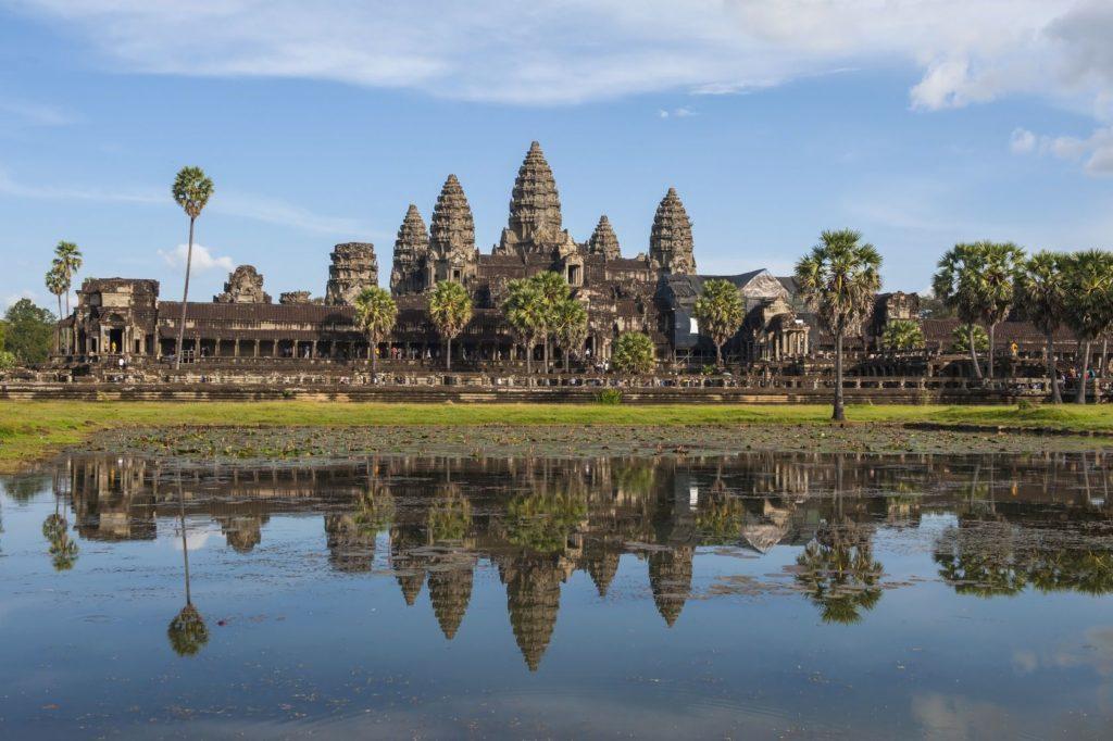 Chrám Angkor Vat v Kambodže | shiro/123RF.com
