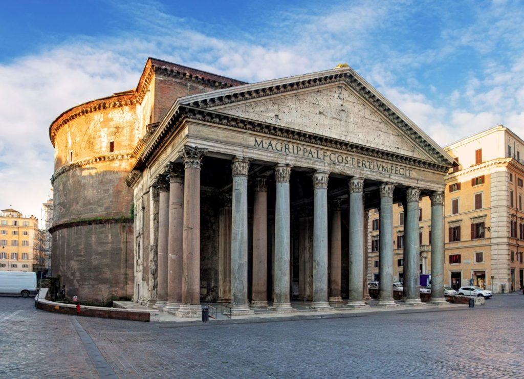 Chrám Pantheon v Římě | tomas1111/123RF.com