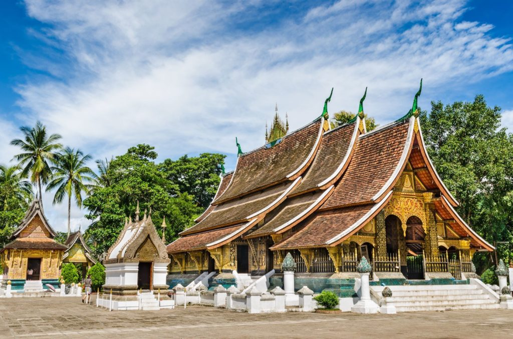 Chrám Wat Xieng Thong ve městě Luang Prabang v Laosu | wuttichok/123RF.com