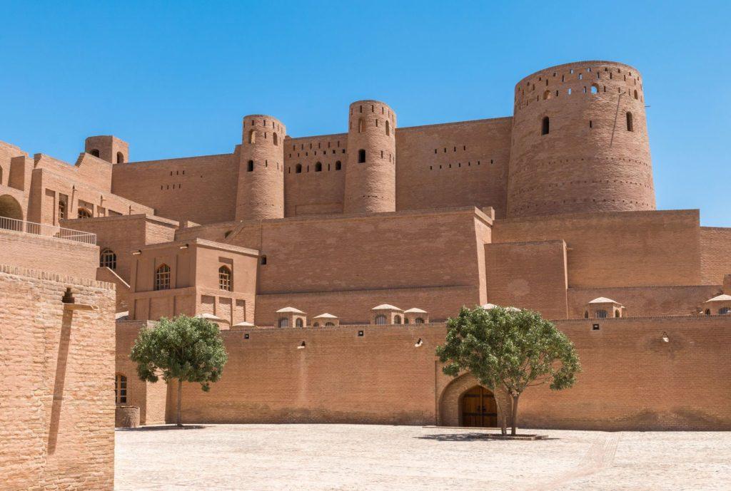 Citadela ve městě Herat v Afghánistánu | pursche/123RF.com