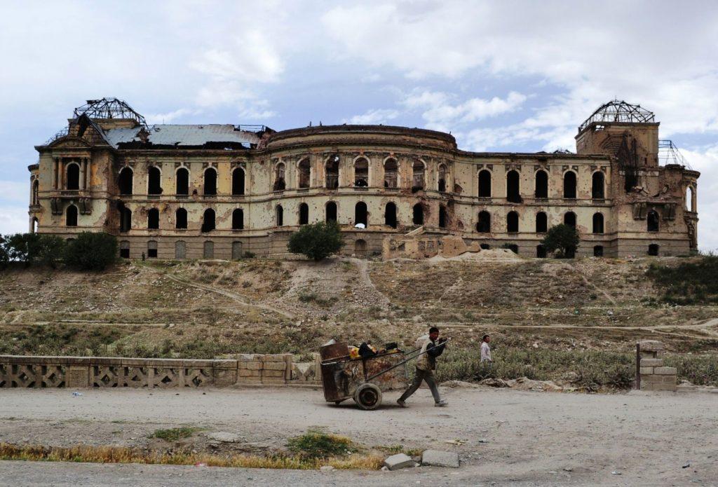 Darul Aman Palace v Kábulu v Afghánistánu | muchl8ter/123RF.com
