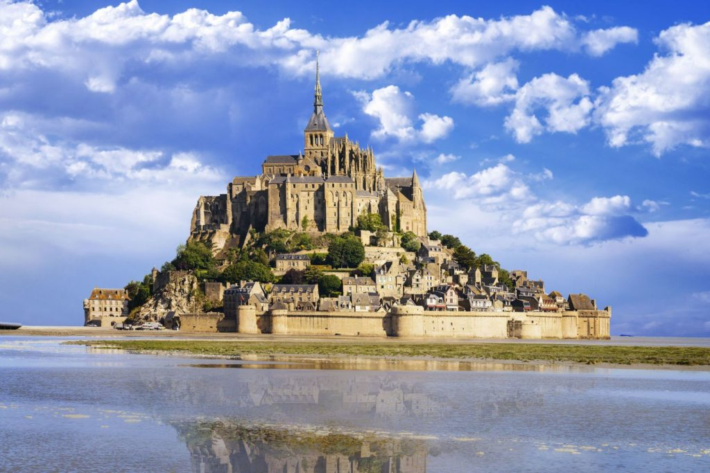 Hora svatého Michaela ve Francii | ventdusud/123RF.com