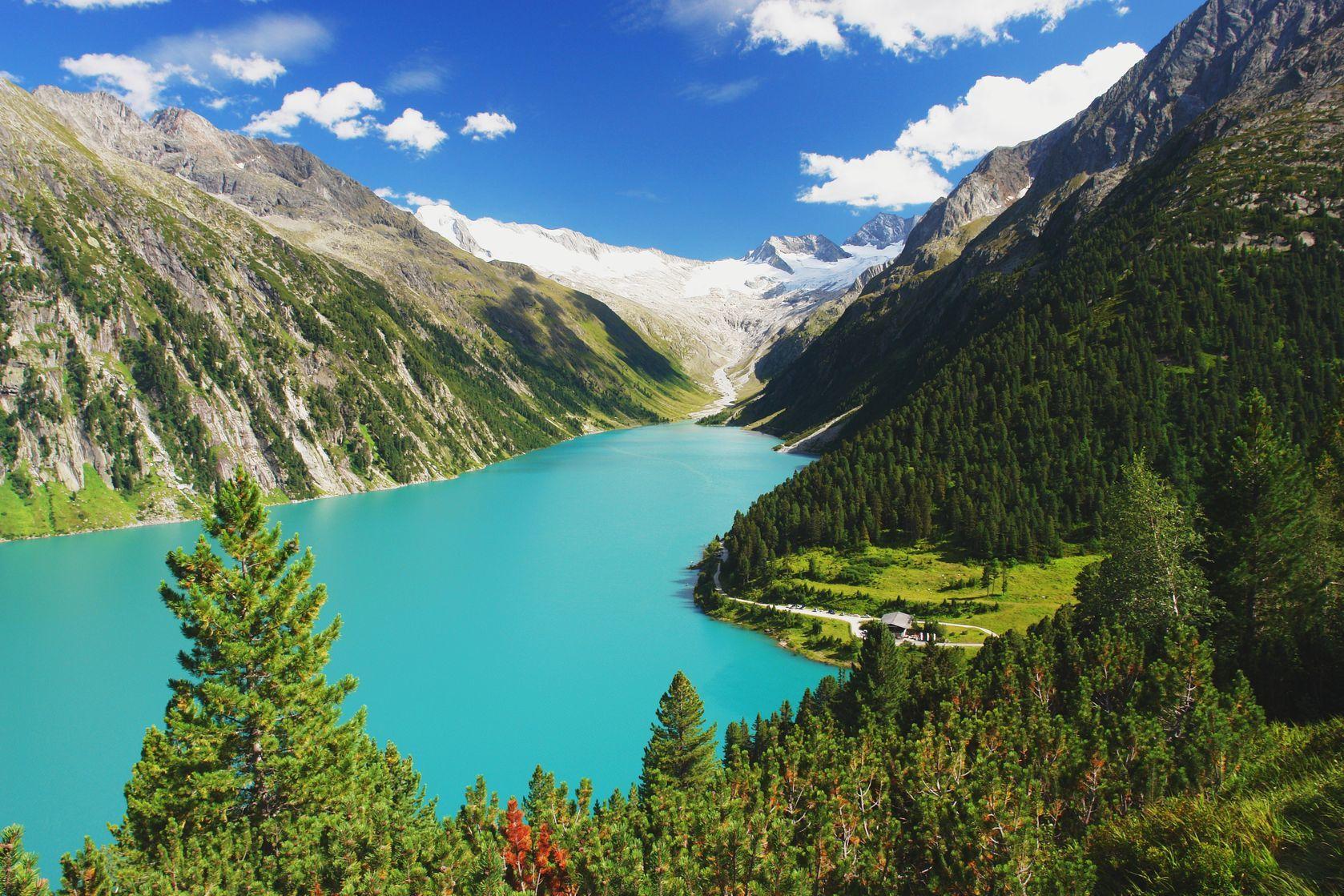 Horská krajina v Rakousku | mildax/123RF.com