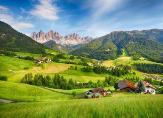 Horská krajina v Tyrolsku | tomas1111/123RF.com