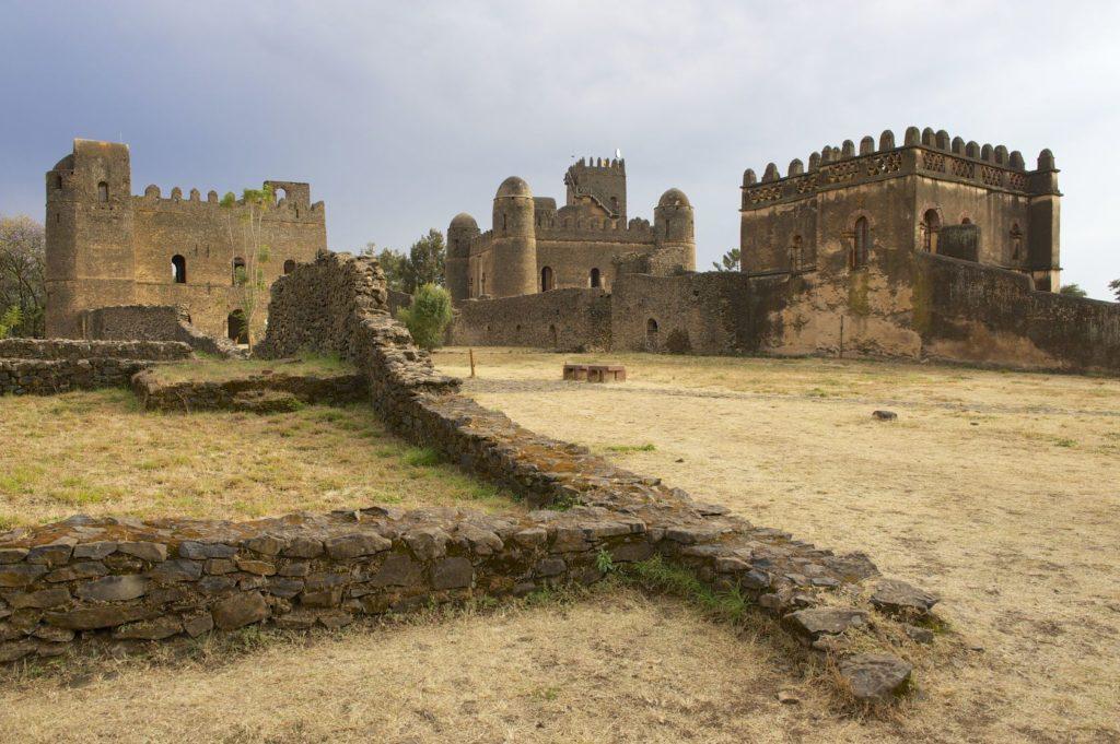 Hradní komplex Gondar v Etiopii | dchulov/123RF.com