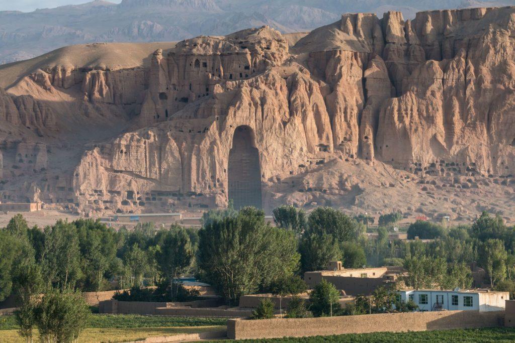 Jeskyně u afgánského města Bamiyan | pursche/123RF.com