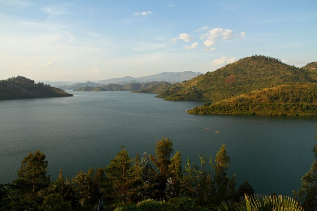 Jezero Kivu v Demokratické republice Kongo | ryanfaas/123RF.com
