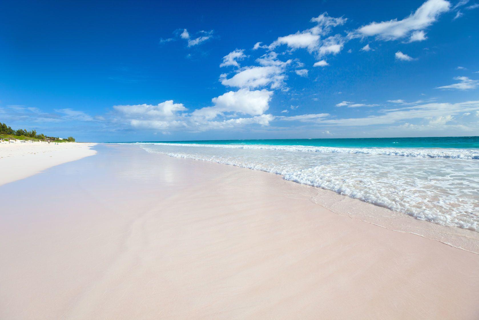 Karibská pláž na Bahamách | shalamov/123RF.com