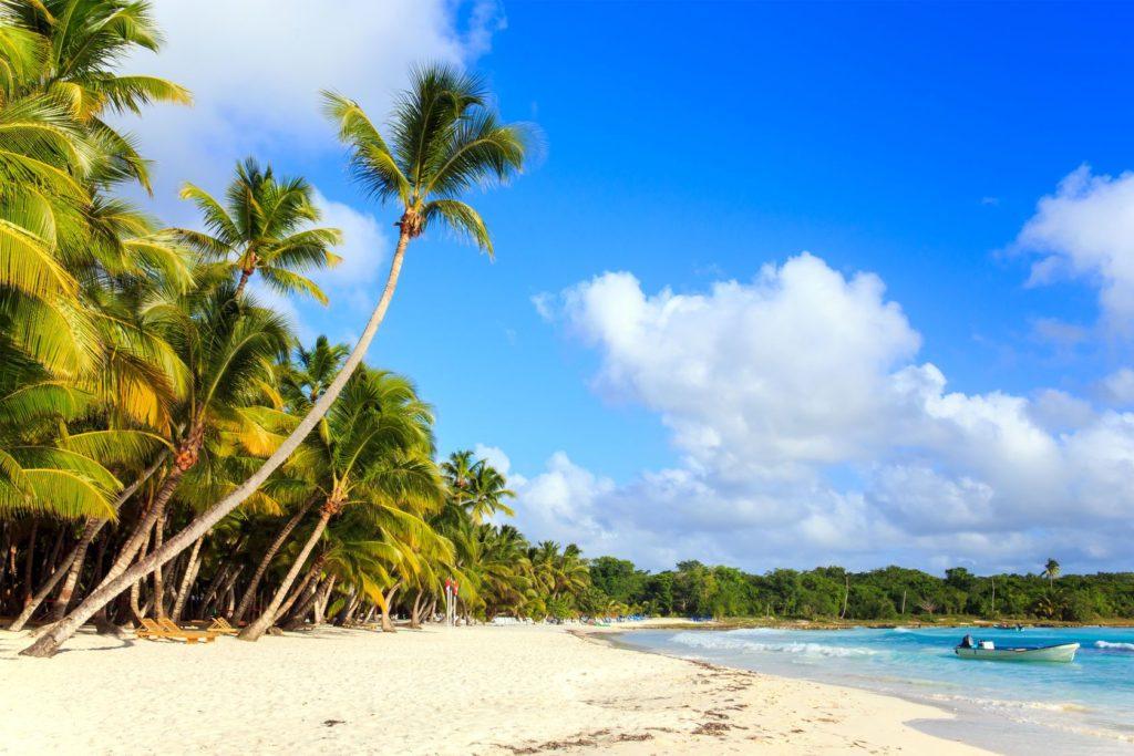 Karibská pláž na ostrově Saona v Dominikánské republice | czekma13/123RF.com