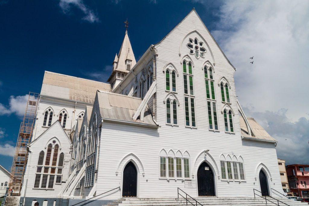 Katedrála svatého Jiří v Georgetownu v Guyaně | mathess/123RF.com