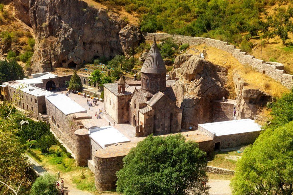 Klášter Geghard v Arménii | sveter/123RF.com