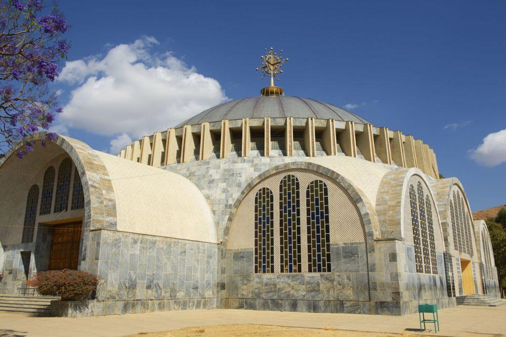 Kostel Panny Marie Sionské v Axumu v Etiopii | dchulov/123RF.com