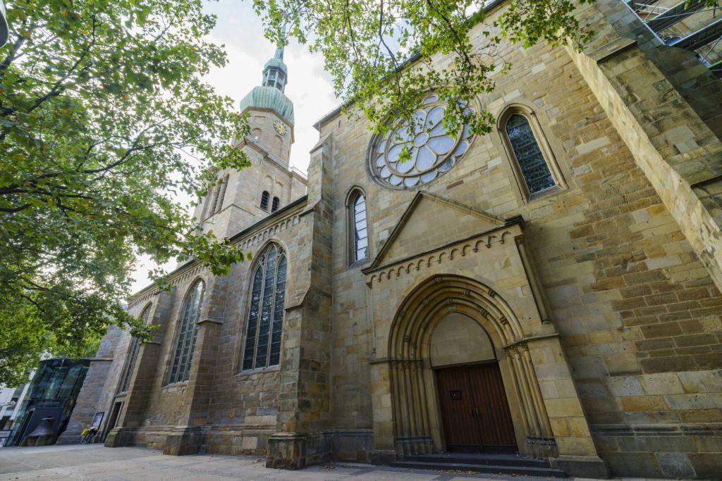 Kostel Reinoldikirche v Dortmundu | kitleong/123RF.com