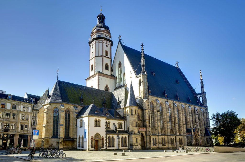 Kostel St. Thomas Bach v Lipsku | draghicich/123RF.com