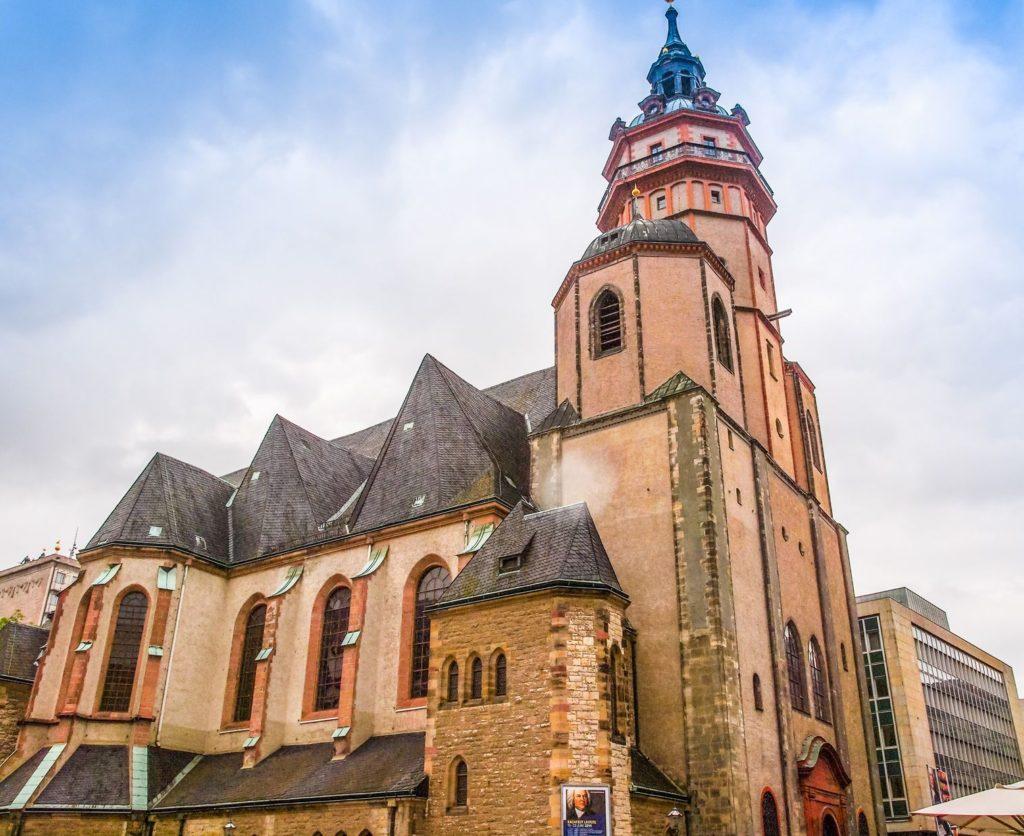Kostel svatého Mikuláše v Lipsku | claudiodivizia/123RF.com