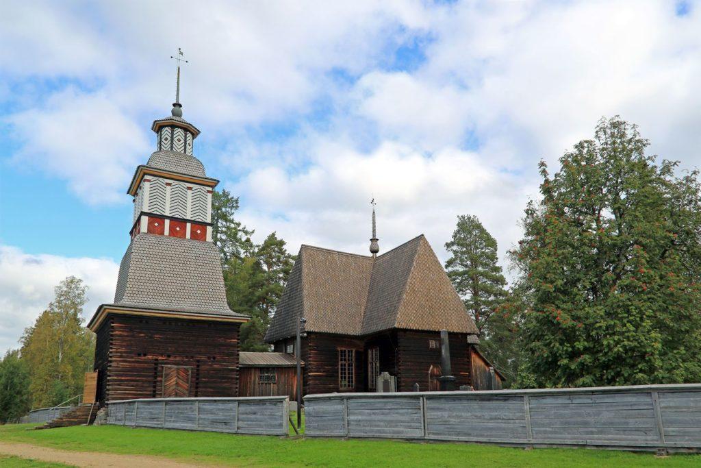 Kostel v Petäjävesi ve Finsku | taina/123RF.com