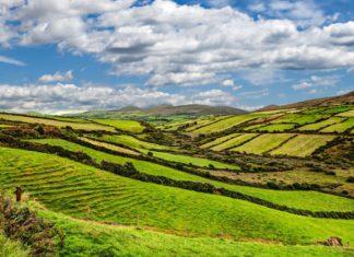 Krajina na irském poloostrově Dingle | matthi/123RF.com