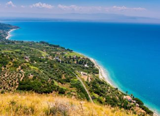 Krajina na jihu Itálie v Kalábrii | annanahabed/123RF.com