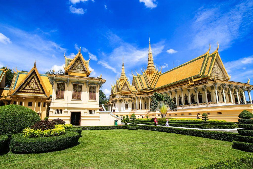 Královský palác v Phnompenh | kenchariya/123RF.com
